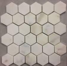 calacatta gold italian calcutta honed marble 2 inch hexagon