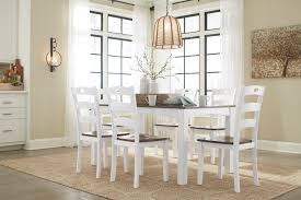 Ashley D335 Woodanville 7 Pack Table Chairs