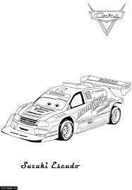 Cars 2 Coloring Pages EColoringPagecom Printable