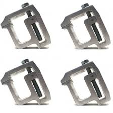 100 Truck Cap Camper The ROP Shop 4 MOUNTING CLAMP Heavy Duty Topper