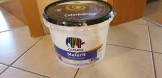 reserviert rest wandfarbe ca 2 l caparol 3 d sys barolo 115
