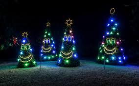 Diy Christmas Ideas Make A Tree Of Lights Using Basketball Pole Lighting Decorations