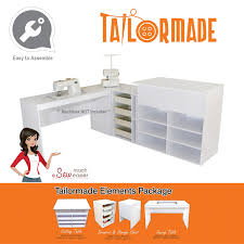 Koala Sewing Machine Cabinets by Elements By Tailormade Sewing Machine Cabinet Trio Cutting