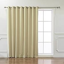 Burgundy Grommet Blackout Curtains by Amazon Com Best Home Fashion Thermal Insulated Blackout Curtains