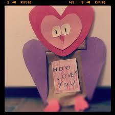 Hool Loves You Owl Valentines Kid Craft