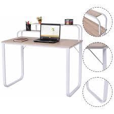 Desks Office Furniture Walmartcom by Costway Computer Desk W 2 Tier Shelves Home Office Furniture