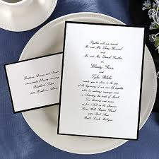 Expound On The Black And White Wedding Invitations