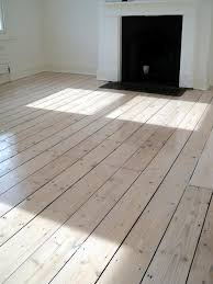 Original Pine Floor After Sanding Staining With White Myland And Refinish 3 Coats Of Matt Lacquer