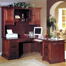 Officemax Corner Desk With Hutch by Home Office Furniture Desk With Hutch Corner L Shaped Black And