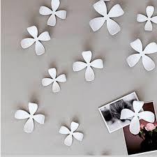 100 Wallflower Designs Umbra Wall Decor 25 Flowers White Diy Nature Art Home