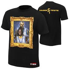 Wwe Goldust Curtain Call by The Golden Truth Authentic T Shirt Wwe Us