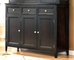 Dining Room Hutches And Buffets Sideboard Small Hutch Buffet Black