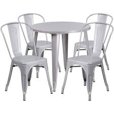 30'' Round Silver Metal Indoor-Outdoor Table Set With 4 Cafe Chairs Giantex 3 Pcs Bistro Ding Set Table And 2 Chairs Kitchen Fniture Pub Home Restaurant Chair Sets Coffee Corner Of Wood And Design Stock 112 Scale Dollhouse Miniature Plastic Dolls House Decor Accsories Toys Keeran My Mission Is To Find A Table Outdoor Astonishing Modern Long Of Two For Garden Porch Or Cafe Customized Solid Round Buy Tables Chairsding In The Philippines 61 Tall Bar Pani 28 Inch With 4 Foldable Contemporary Ygrds9t853c