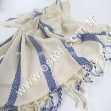 royal blue sedef towel set 2 pcs handloom cotton bath towel beach