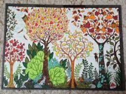 Johanna Basford Enchanted Forest Adult Colouring Postcards