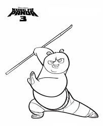 Nobby Design Ideas Kung Fu Panda Colouring Pages 14 Kids