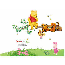 Wall Decal Winnie The Pooh by Winnie The Pooh Tigger Piglet Tree Wall Stickers Home Decor
