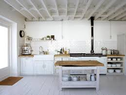 Wide Open White Rustic Kitchen Ideas And Inspirations To Your New Home Homeideaco