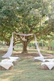Backyard Wedding Ceremony Decoration Ideas