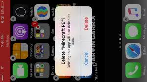 How to Minecraft PE free on iPhone