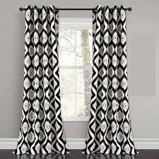zeitgenössisch moderne polyester geometrisch schwarz weiß