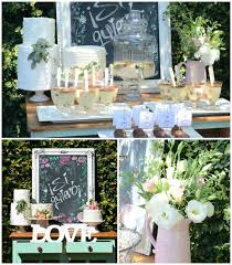 Rustic Chic Bridal Shower Via Karas Party Ideas