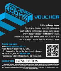 25% STUDENT DISCOUNT! - Escape Rooms CardiffEscape Rooms Cardiff Escape The Room Nyc Promo Code Nike Offer Rooms Coupon Codes Discounts And Promos Wethriftcom Into Vortex All Rooms Are Private Michigan Escape Games Coupon Audible Free Audiobook Instacash New User 8d 5 Off Per Player Mate Wellington Oicecheapies Special Offers Room Gift Vouchers Dont Get Locked In Bedfordshire Rainy Day Code Jamestown