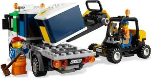 100 Lego Recycling Truck 4206