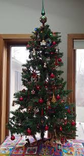 3ft Pre Lit Blue Christmas Tree by Optic Fibre Christmas Trees Christmas Lights Decoration