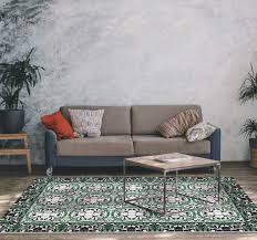 mosaik wohnzimmer teppich