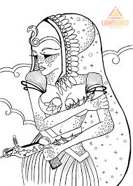 Free Coloring Page From Space Dreams Sci Fi Adult Adventure