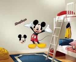 Wall Sticker Kids Bedroom With Mickey Mouse Themes
