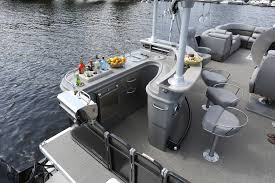 Crest Pontoon Captains Chair by Pontoons Once Considered An Ugly Duckling By Some Boating