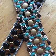 Leather Bracelet Knots Beads Best American Made Col Littleton