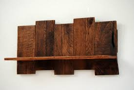 furniture accessories cool wood wall mounted shelves unique diy