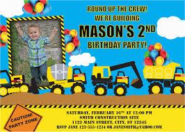100 Tonka Truck Birthday Party Invitations Tonka Invitation By