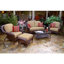 Bjs Outdoor Furniture Cushions by Size 6 Piece Sets Patio Furniture Outdoor Seating U0026 Dining For
