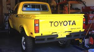 100 1980 Toyota Truck Pickup 4wd 20r Real S Pinterest