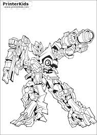 Download Transformers Coloring Pages