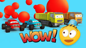 100 Garbage Truck Video Youtube Vs Pickup Monster S For Kids Car