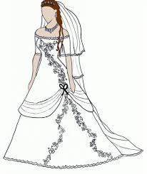 Designs Anime Dress Drawing Wedding
