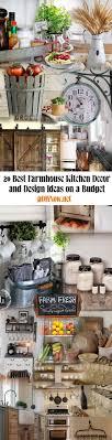 Farmhouse Kitchen Ideas On A Budget 20 Best Decor And Design