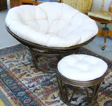White Saucer Chair Target by Ottomans Double Papasan Chair With Ottoman Saucer Black