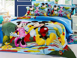 Minnie Mouse Bedding Set Twin by Blue Mickey Mouse Twin Bed In A Bag Popular Mickey Mouse Twin