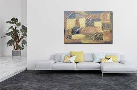 wandbilder kunst 150x100 cm gold braun bordeaux abstrakt nr 1315