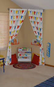 Adventures In Decorating Curtains by Back To Cool Homework Stations And Homeschool Rooms