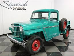 100 Willys Jeep Truck For Sale 1960 For ClassicCarscom CC1010640