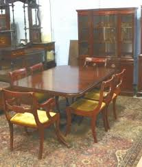 Drexel Mahogany Dining Room Set Ca 1930 S Rh Icollector Com Table And Hutch