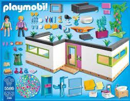 playmobil gästebungalow 5586