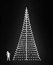 FLAGPOLE CHRISTMAS TREE 10M